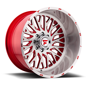 Fittipaldi Offroad FTF07 X-Trail Brushed W/ Red Milled Spokes