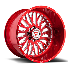 Fittipaldi Offroad FTF07 X-Trail Red W/ Milled Spokes