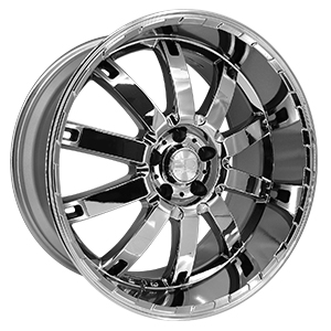 HD Wheels Autobahn Chrome PVD