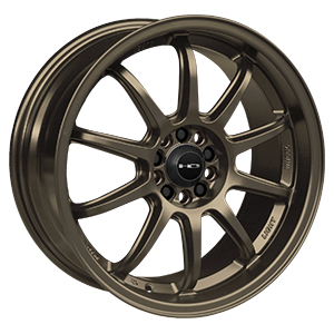 HD Wheels Clutch Satin Bronze