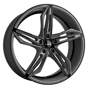 HD Wheels Fly-Cutter Gray W/ Black Face