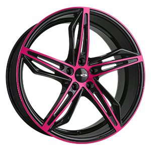 HD Wheels Fly-Cutter Black W/ Pink Face