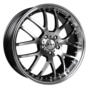 HD Wheels MSR Gloss Black Machined