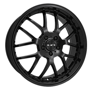 HD Wheels MSR Satin Black