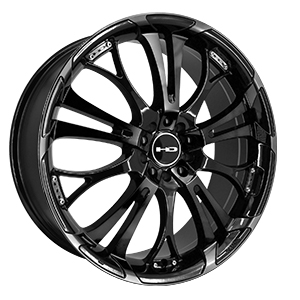 HD Wheels Spinout Gloss Black