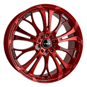 HD Wheels Spinout Red Sonic Machined