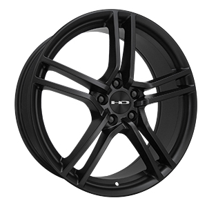 HD Wheels Vento Satin Black