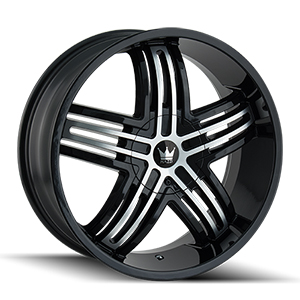 Mazzi Entice 368 Gloss Black W/ Machined Face
