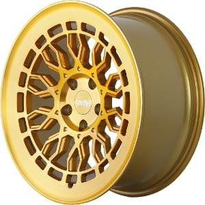 Radi8 R8A10 Gold W/ Brushed Face
