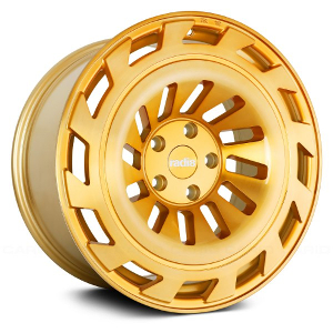 Radi8 R8T12 Gold W/ Brushed Face