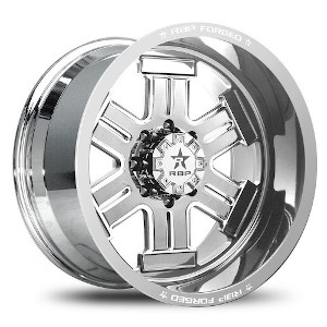 Rolling Big Power Forged Magnum High Polished