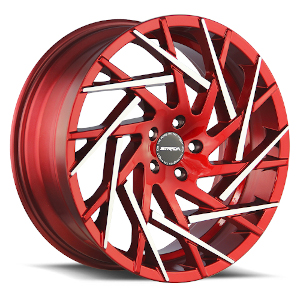 Strada Nido S64 Candy Red Machined Tips