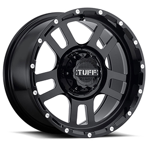TUFF A.T. T19 Gloss Black W/ Milled Dimples