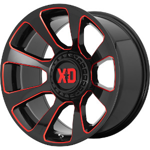 XD Series XD854 Reactor Milled W Red Tint