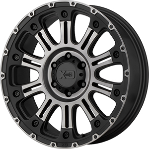 XD Series XD829 Hoss 2 Black Machined Gray