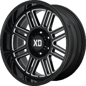 XD Series XD850 Cage Gloss Black Milled