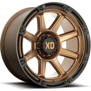 XD Series XD863 Matte Bronze W/ Black Lip