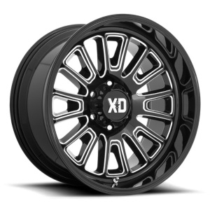 XD Series XD864 Gloss Black Milled