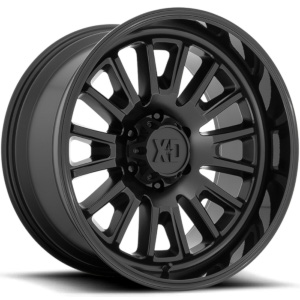 XD Series XD864 Rover Satin Black W/ Gloss Black Lip