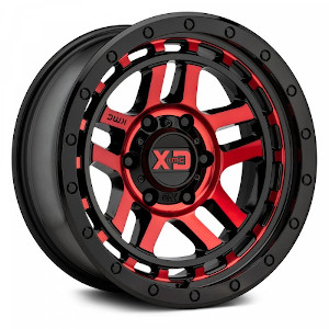 XD Series XD140 Recon Machined W/ Red Tint