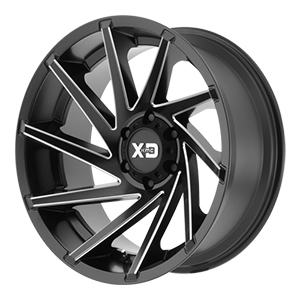 XD Series XD834 Cyclone Black