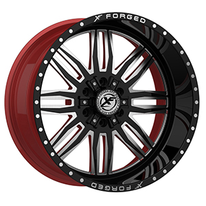 XF Forged XFX-303 Gloss Black Red Inner
