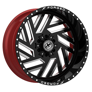 XF Forged XFX-304 Gloss Black Milled W/ Red Inner