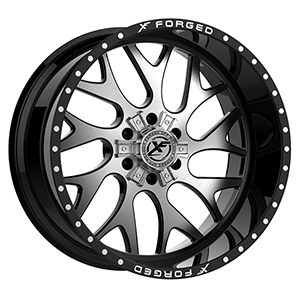 XF Forged XFX-301 Gloss Black Brushed