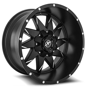 XF Offroad XF-208 Black Milled
