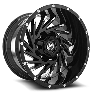 XF Offroad XF-209 Black Machined