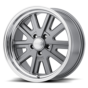 American Racing VN527 Gray W/ Machined Lip