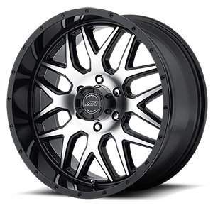 American Racing AR910 Gloss Black W/ Machined Face