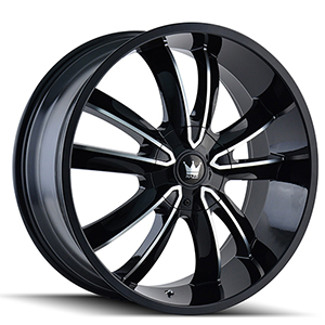 Mazzi Obsession 366 Gloss Black W/ Machined Face