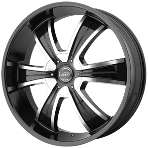 American Racing AR894 Gloss Black W/ Machined Face