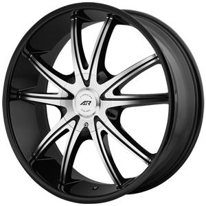 American Racing AR897 Gloss Black W/ Machined Face