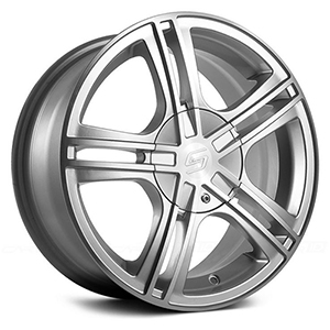 Sacchi S62 262 Hyper Silver W/ Machined Face